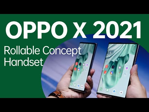 OPPO X 2021 - The smartphone display concept of the future