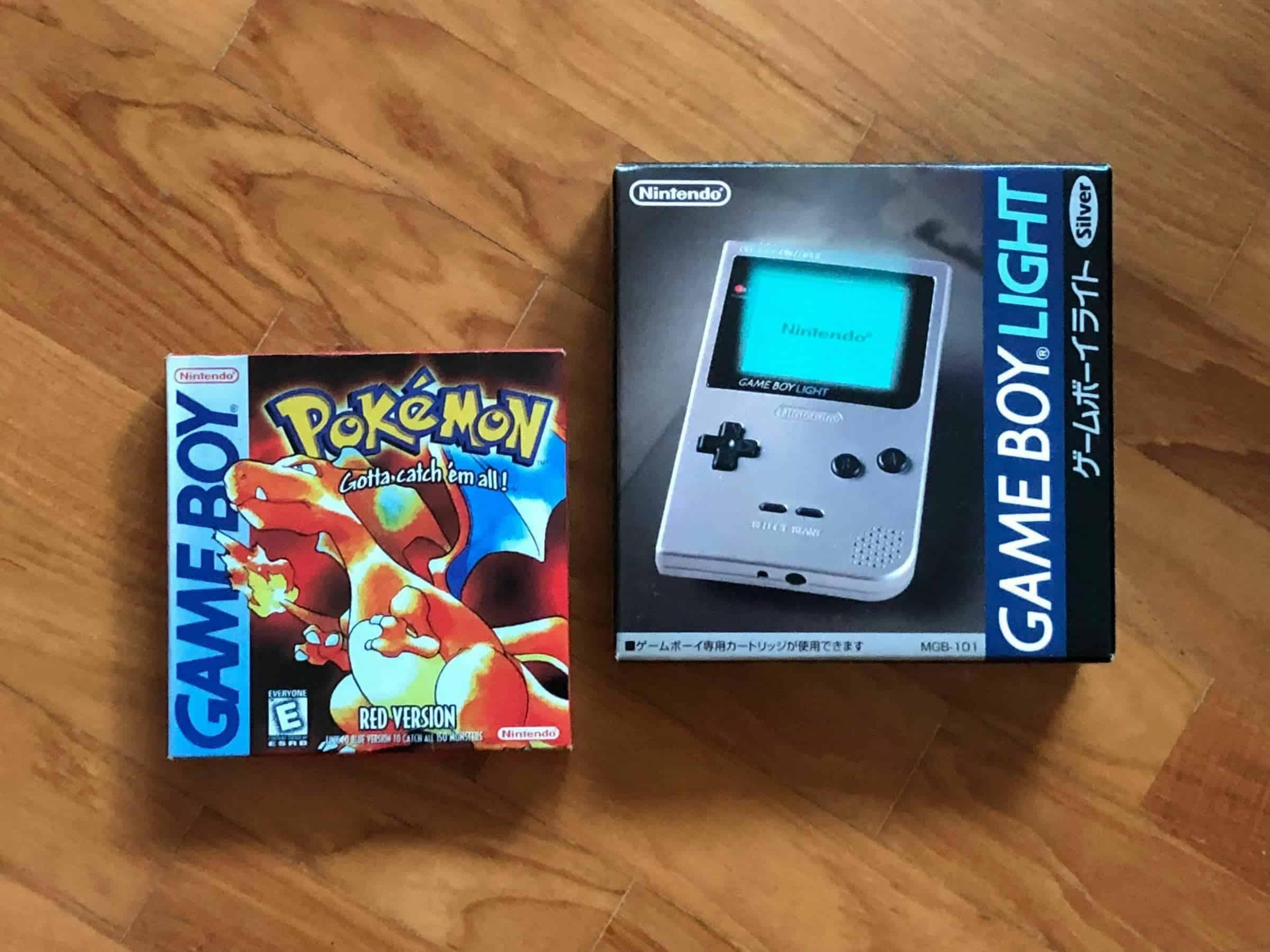 Game Boy Light Pokemon Red