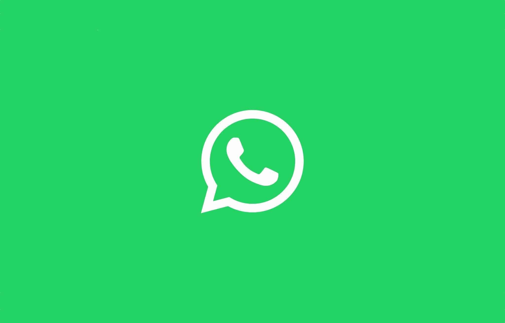 WhatsApp-white-logo-on-green-background