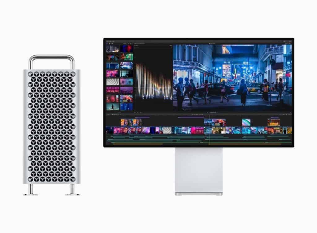 Apple mac pro new display
