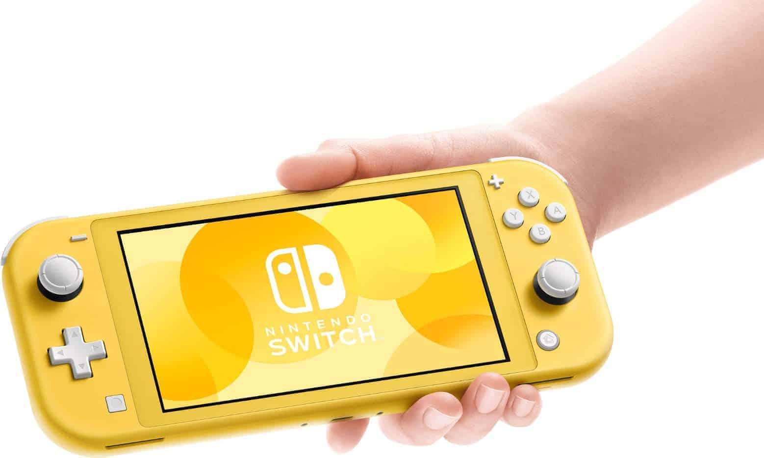 Nintendo Switch Lite Yellow Official