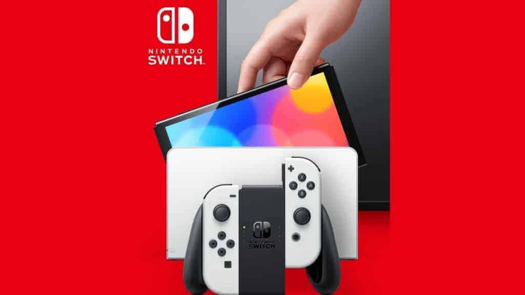 Nintendo Switch OLED Docking Station 2021