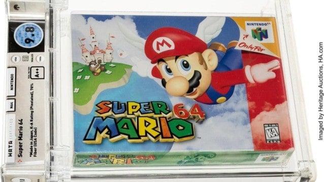 Super Mario 64 Wata Certified 9-8